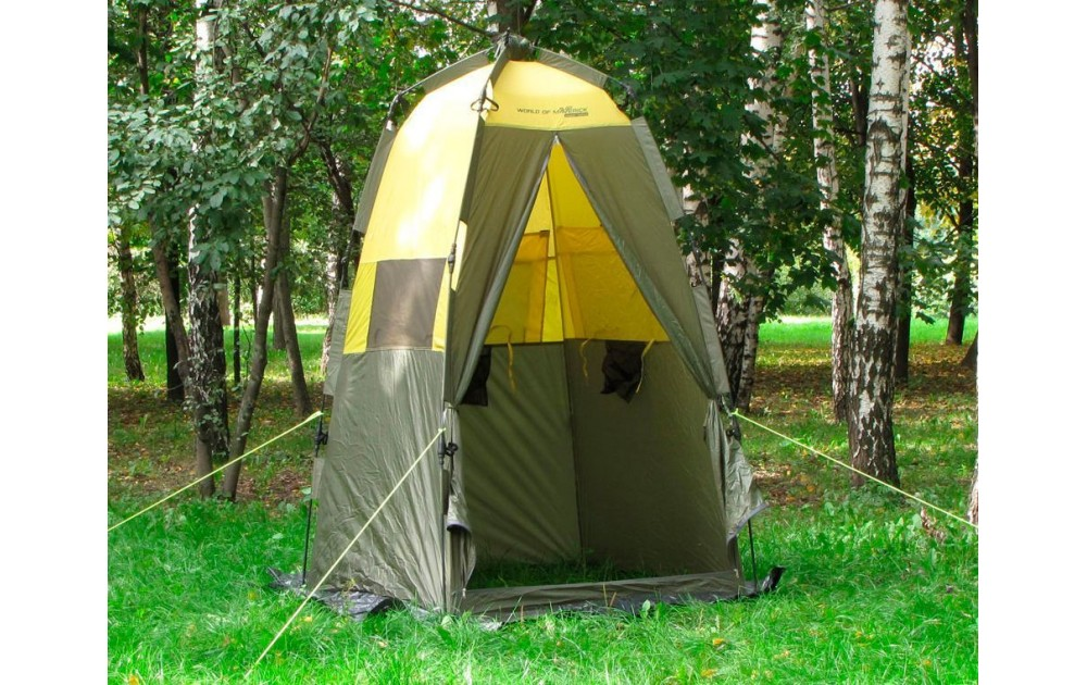 Особенности палаток для душа и туалета