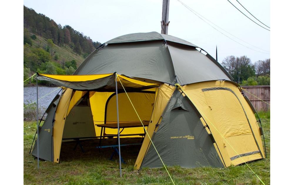 Туристический шатер: маленький дом на природе