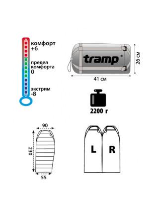 Спальный мешок Tramp SIBERIA 5000 XXL