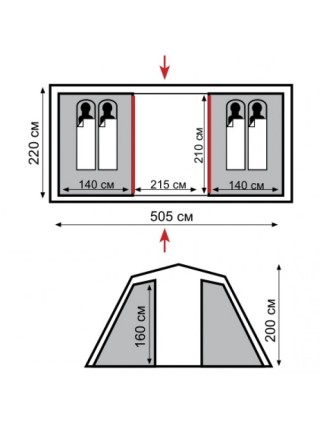 Палатка Tramp  Brest 4