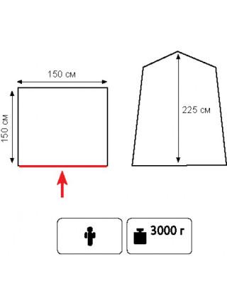 Палатка душ/туалет Totem Privat