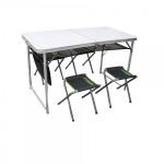 Набор стол туристический и 4 стула Atemi ATS-400