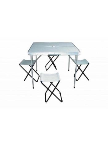 Набор мебели Woodland Picnic Table Set Luxe