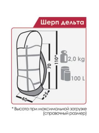 Рюкзак Normal Шерп дельта PRO