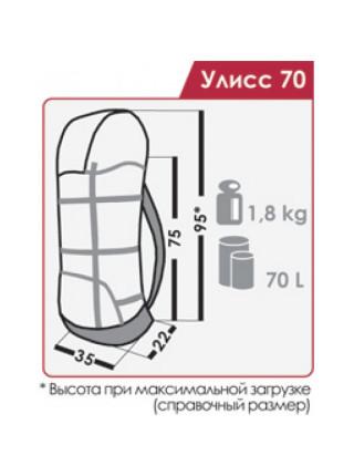 Рюкзак Normal Улисс 70 PRO