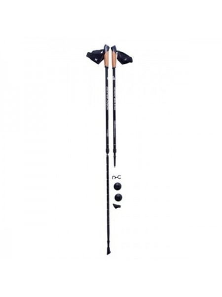 Треккинговые палки Kaiser Sport NORDIC WALKING WHITE BLACK