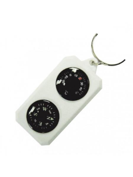 Sol компас-брелок с термометром SLA-003