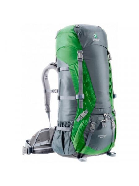 Рюкзак Deuter Aircontact 65 + 10 grante-emerald