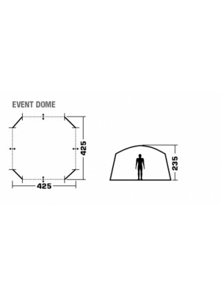 Шатер Trek Planet Event Dome