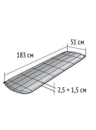 Коврик самонадувающийся Tengu Mk 3.25M
