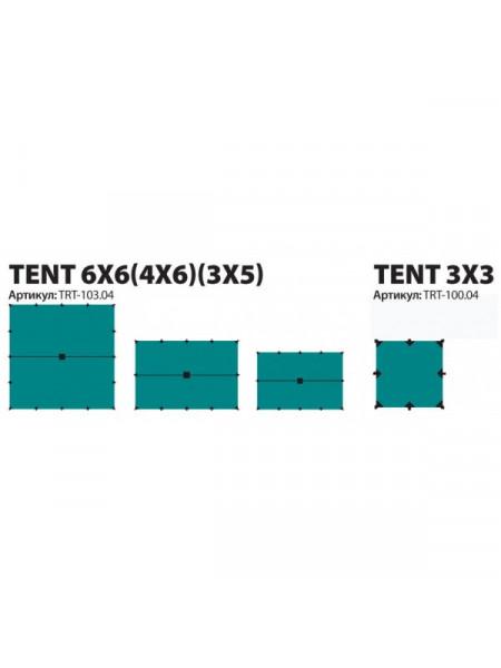 Тент Tramp 3*3м, 3*5м, 4*6м, 6*6м